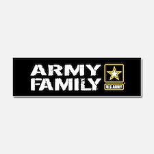 U.S. Army: Family (Black) Car Magnet 10 x 3