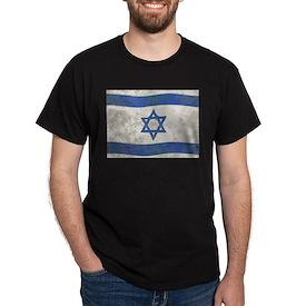 Israel Flag Grunge T-Shirt