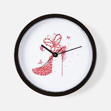 Cute Rose is rose Wall Clock