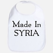 Made In Syria Bib
