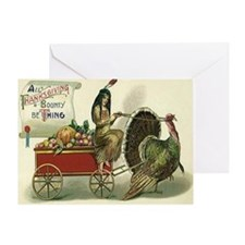 Thanksgiving Bounty Greeting Card