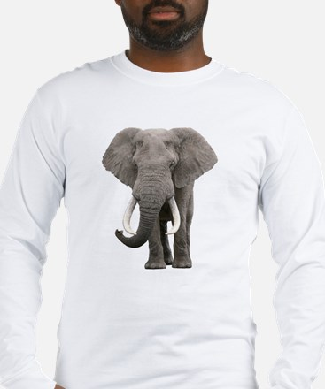 Unique Elephant Long Sleeve T-Shirt