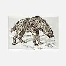 Unique Hyena Rectangle Magnet