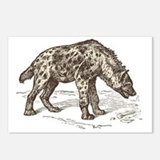 Funny Hyena Postcards (Package of 8)