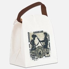 Funny Punk rock Canvas Lunch Bag