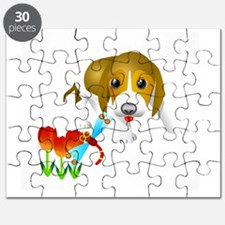 Cute Bone tag Puzzle
