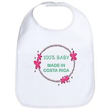 Baby Made in Costa Rica Bib