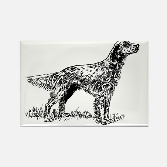 Cool English setter Rectangle Magnet
