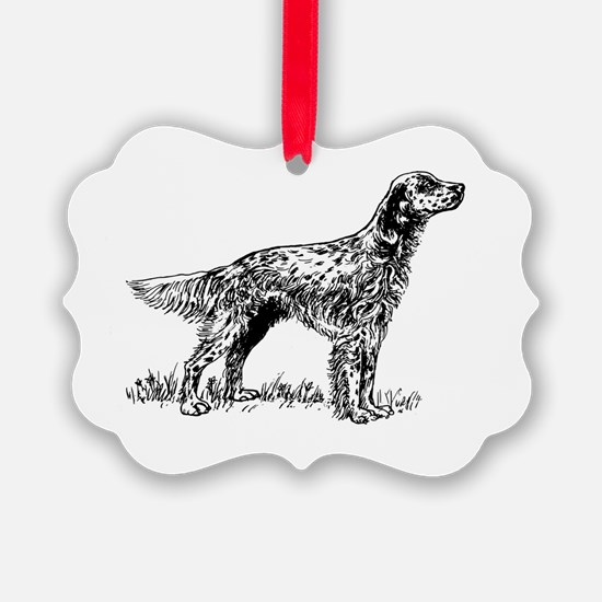 Cute Setter Ornament