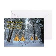 Tipi Village Christmas Cards (Pk of 10)