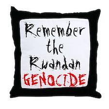 Rwandan Genocide Throw Pillow