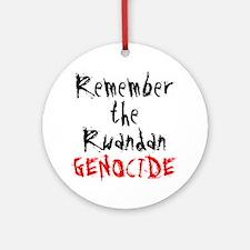 Rwandan Genocide Ornament (Round)
