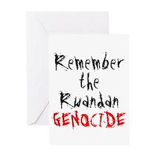 Rwandan Genocide Greeting Card