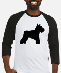 Unique Bearded collie art Baseball Jersey