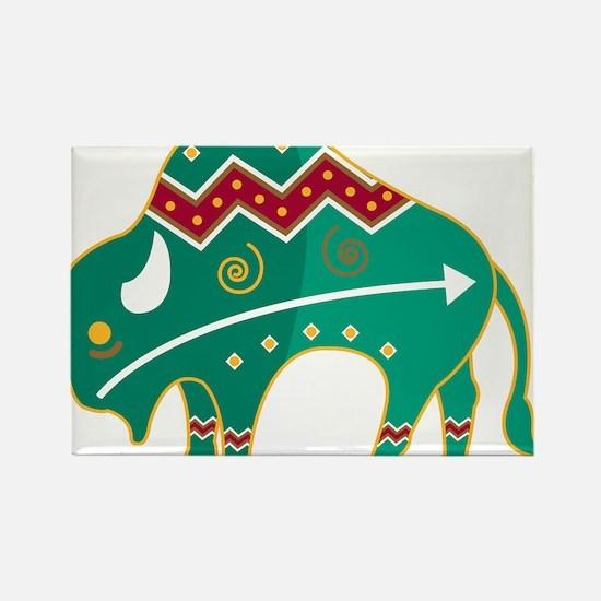 Indian Spirit Buffalo Magnets