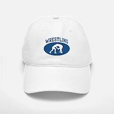 Wrestling (blue circle) Baseball Baseball Cap