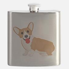 Unique Corgi Flask