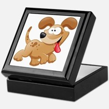 Cute Cartoon picture Keepsake Box
