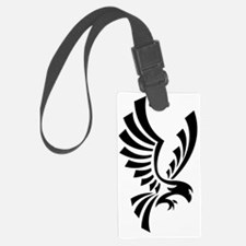Cute Eagle tattoo Luggage Tag