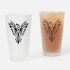 Cool Phoenix bird Drinking Glass