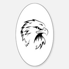 Unique Falcon Sticker (Oval)