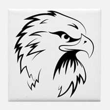 Cute Falcon Tile Coaster