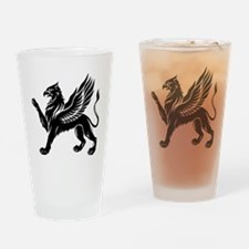 Cute Gryphon Drinking Glass