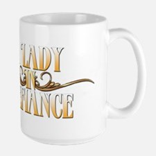 A Lady in Defiance Mugs