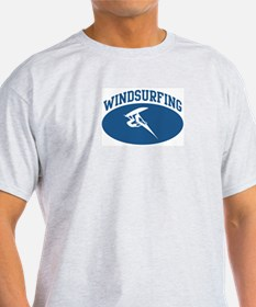 Windsurfing (blue circle) T-Shirt