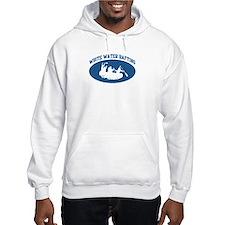 White Water Rafting (blue cir Hoodie
