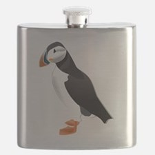 Cool Puffin Flask