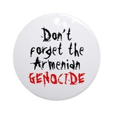 Armenian Genocide Ornament (Round)