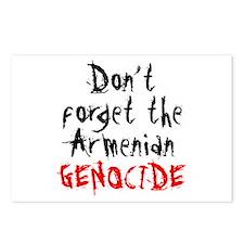 Armenian Genocide Postcards (Package of 8)