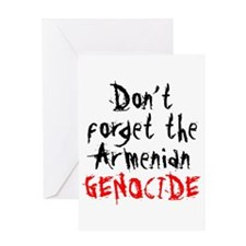 Armenian Genocide Greeting Card