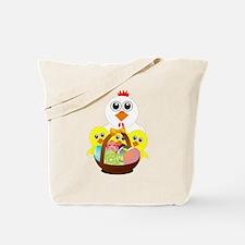 Unique Media basket Tote Bag