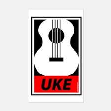 Obey the Uke Decal