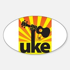 Uke Fist Power Decal
