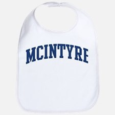 MCINTYRE design (blue) Bib
