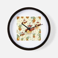 Cute Birdhouse Wall Clock