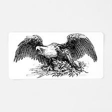 Fighting dragons Aluminum License Plate