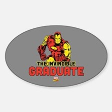 Iron Man The Invincible Graduate Decal