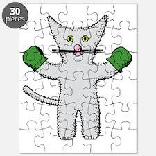 Cute White bride Puzzle