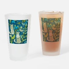 Cute Cat themed Drinking Glass