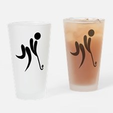 Cute Pictogram Drinking Glass