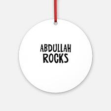 Abdullah Rocks Ornament (Round)