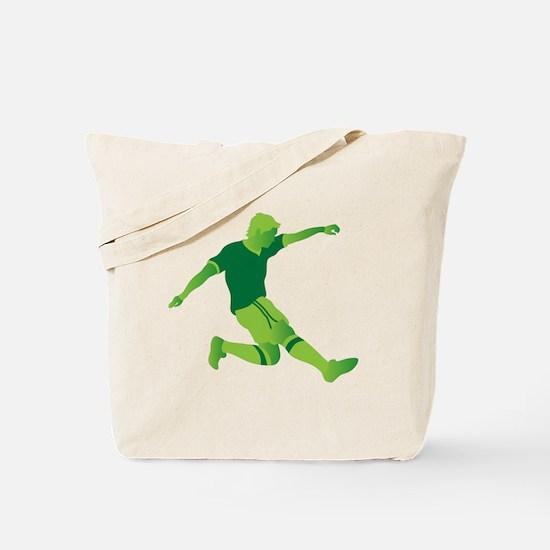 Cute Light green ribbon Tote Bag