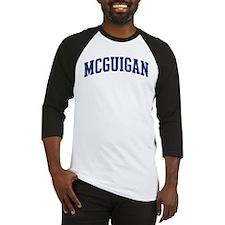MCGUIGAN design (blue) Baseball Jersey