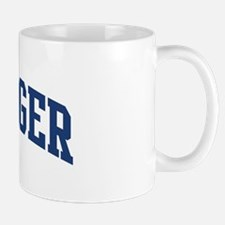 MESSINGER design (blue) Mug