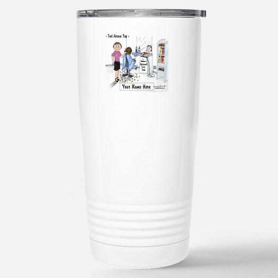 Hair Dresser, Female Travel Mug