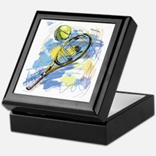 Cute Tennis Keepsake Box
